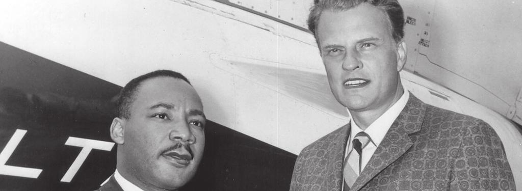 Billy Graham and Racial Equality Dr. Martin Luther King, Jr. (left), and Billy Graham first met during Graham s historic 1957 New York Crusade. Pre-Visit Reading: Excerpt from a letter Dr.