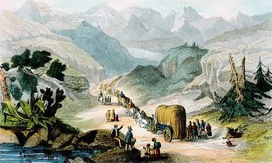 Americans move West Life on the Wagon Trail 2,000 mile