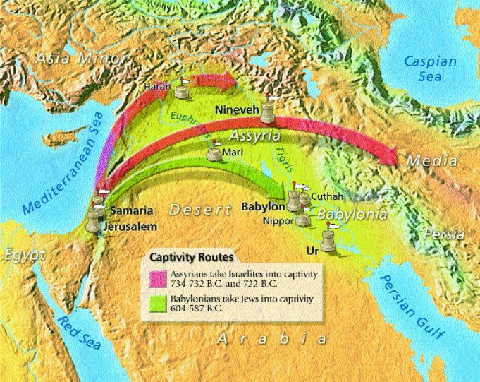 Conquests of Israel The Empires of Mesopotamia conquered other