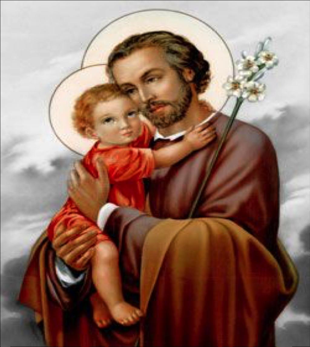 SAINT MARY S PARISH Third Sunday of Lent March 5, 2018 St. Joseph Feast Day Celebration Come One, Come All to Celebrate the Solemnity of St. Joseph, Husband of Mary Day One Sat., March 10 Rev.
