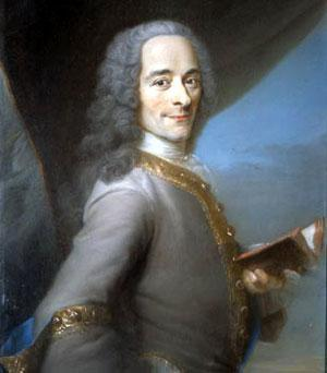 Voltaire, one of the most well-known French philosophes, used his pen to fight for tolerance, reason, freedom of
