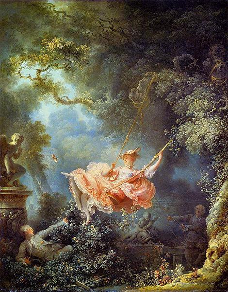 Rococo A reaction by the nobility to the Baroque style associated with Louis XIV Depicted the idealized