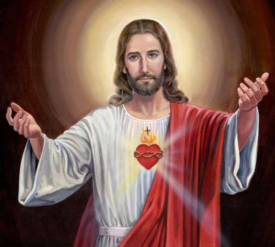 Heart of Jesus, obedient to death, Heart of Jesus, pierced with a lance, Heart of Jesus, source of all consolation, Heart of Jesus, our life and resurrection, Heart of Jesus, our peace and our