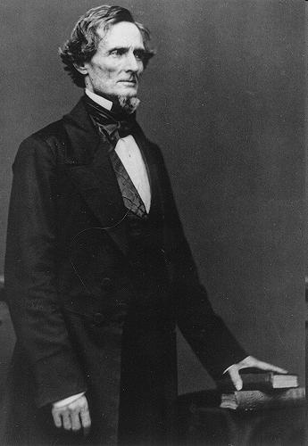 Jefferson Davis Was the President of the Confederate States.