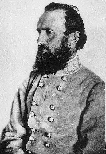 Thomas Stonewall Jackson General that led the Confederate troops at the Battle of Bull Run.
