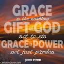 Grace is also God s enabling power to help us to press on in obedience in our walk with the Lord The Apostle Paul wrote, But by the grace of God I am what I am, and His grace toward me was not in