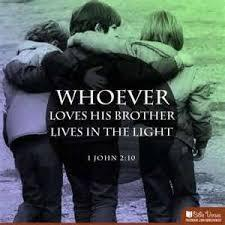He who does not love his brother abides in death.