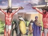 8) God's amazing grace is clearly seen on the cross at Calvary, where Jesus forgives one of the two criminals that was dying with him on the cross next to him, even though he initially had been