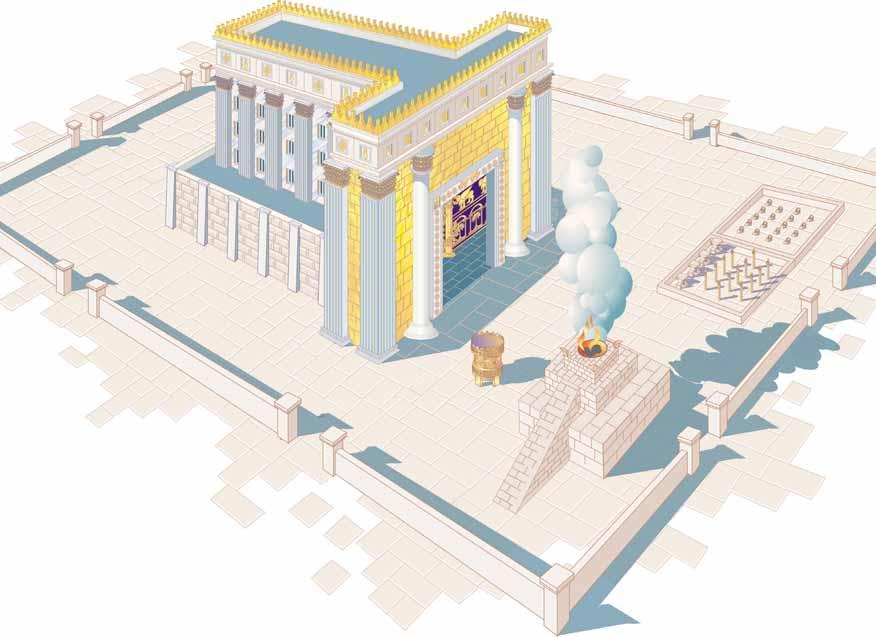 Rose Guide to the Temple Herod s Temple Cutaway 3 4 1 2 Bill Latta Temple Court 1 1 The Brazen Laver 2 2 The Altar of