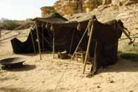 God s Sanctuary Before the Temple TENT OF MEETING During the time of the tabernacle s construction, Moses built a tent of meeting outside the camp so he could privately enter into the God s presence