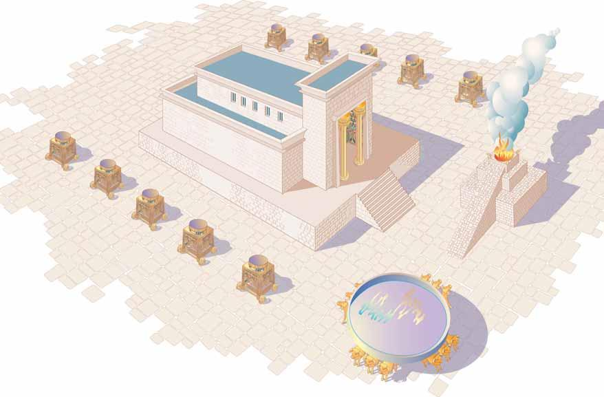 Rose Guide to the Temple Solomon s Temple Cutaway 1 4 2 3 Bill Latta The Courtyard 1 1 The Temple 2 2 The Brazen