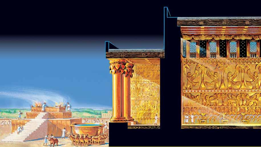 Rose Guide to the Temple Solomon s Temple Side View 1 4 3 5 2 6 1 2 3 4 5 6 BRAZEN ALTAR. Sacrifi ces took place upon this altar. ANIMALS FOR SACRIFICE.