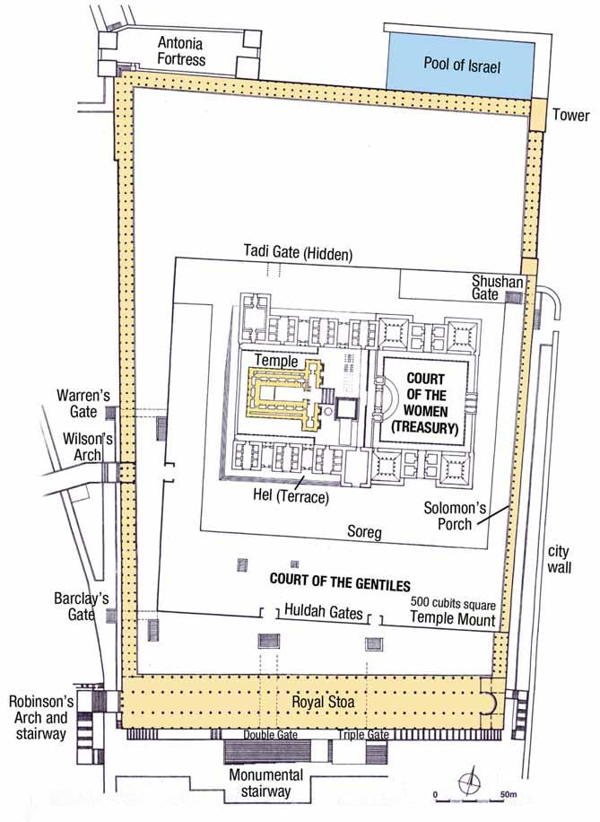 Rose Guide to the Temple Herod s Temple: Outer Gates and