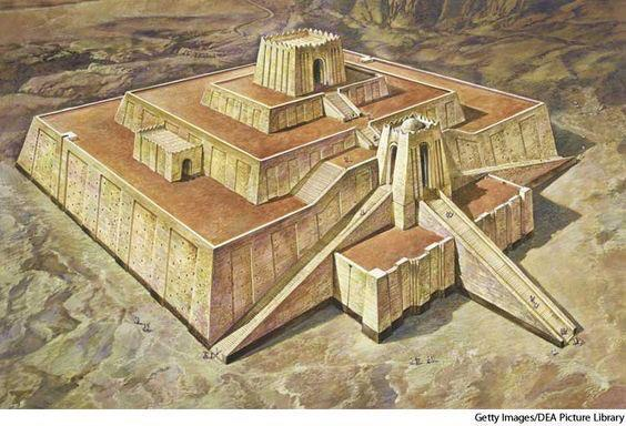 ZIGGURATS Mesopotamian temples largest building in