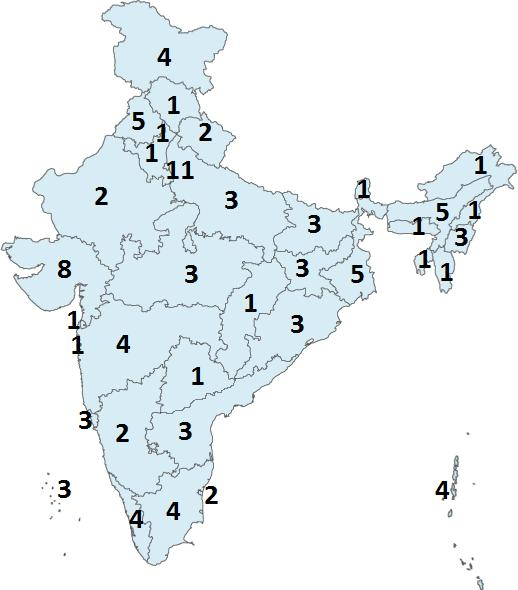2. India - States The study starts with examining the Wikipedia article of India in the English language, available at https://en.wikipedia.org/wiki/india.