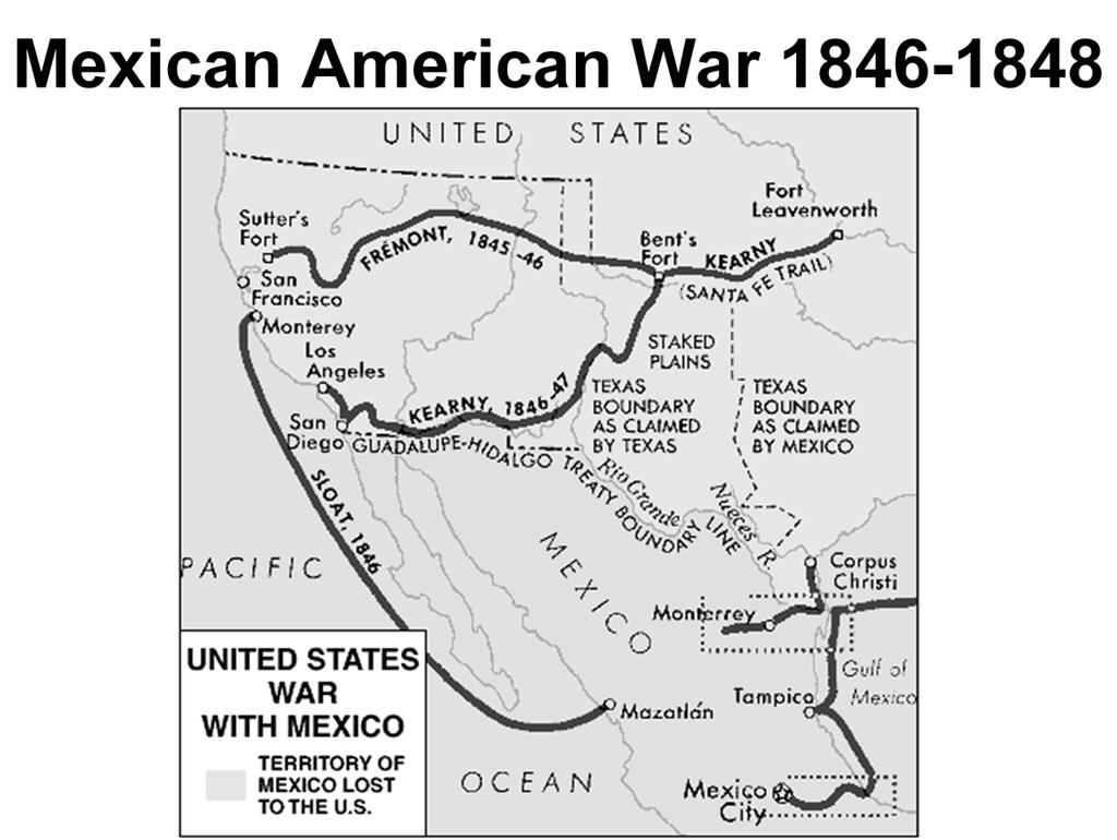 Use to highlight whatthe United States would gain as part of this war and how what we