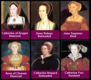 King Henry VIII divorced his wife and remarried, broke with papal authority.