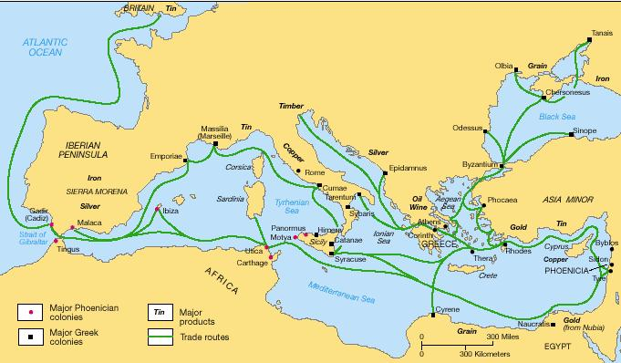 The Geography of Rome Rome was located on the Italian peninsula along the