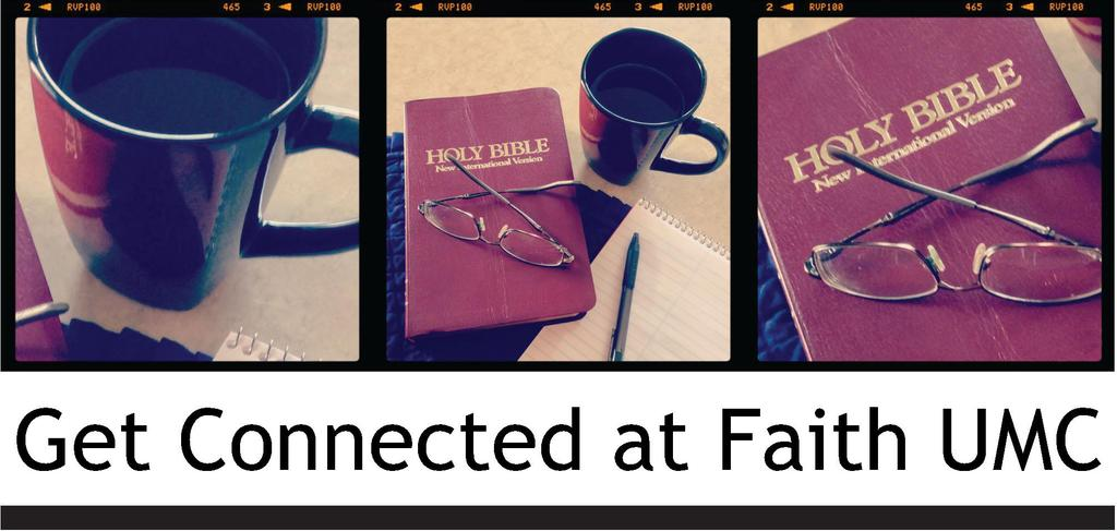 Spiritual Formation Ministry Team Adult Faith Formation and Discipleship: Fall into Faith and Get Connected at Faith UMC Fall Adult Groups are now forming.