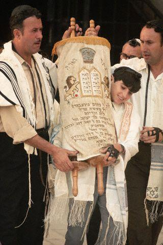 The Torah is the holy book of Judaism, the laws of the Jewish people.