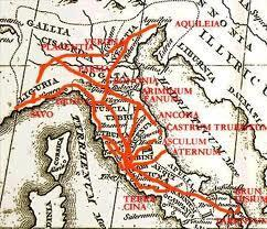 Early Roman Republic Soldier were posted throughout the landmilitary roads link territories.