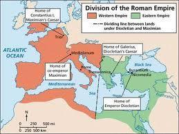 Reforms of Diocletian 284 AD-legions made Gen.
