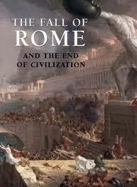 The Fall 476 is the official year of Western collapse. Eastern survives for another 1000 years after Rome fell.