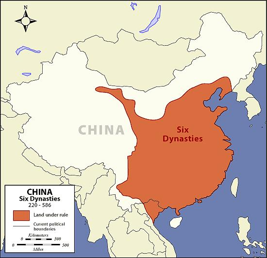THE TANG AND SONG DYNASTIES OF CHINA This period in china s history is known as the Six Dynasties.