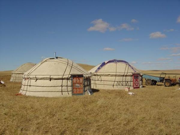 From earliest times, nomadic people have lived in this area by herding horses, sheep,