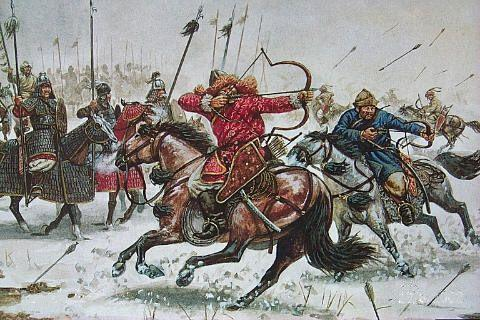 Others had little chance against 200,000 skilled Mongol horsemen, riding with