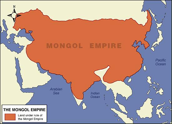 Under Chinggis Khans successors, Mongol rule extended into Persia, Russia, Iraq, and the rest of China.