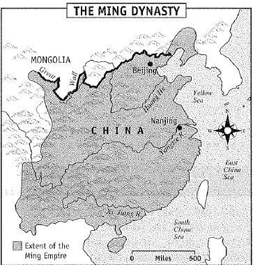THE MING DYNASTY (1368-1644) Despite their achievements, the Mongols remained unpopular in