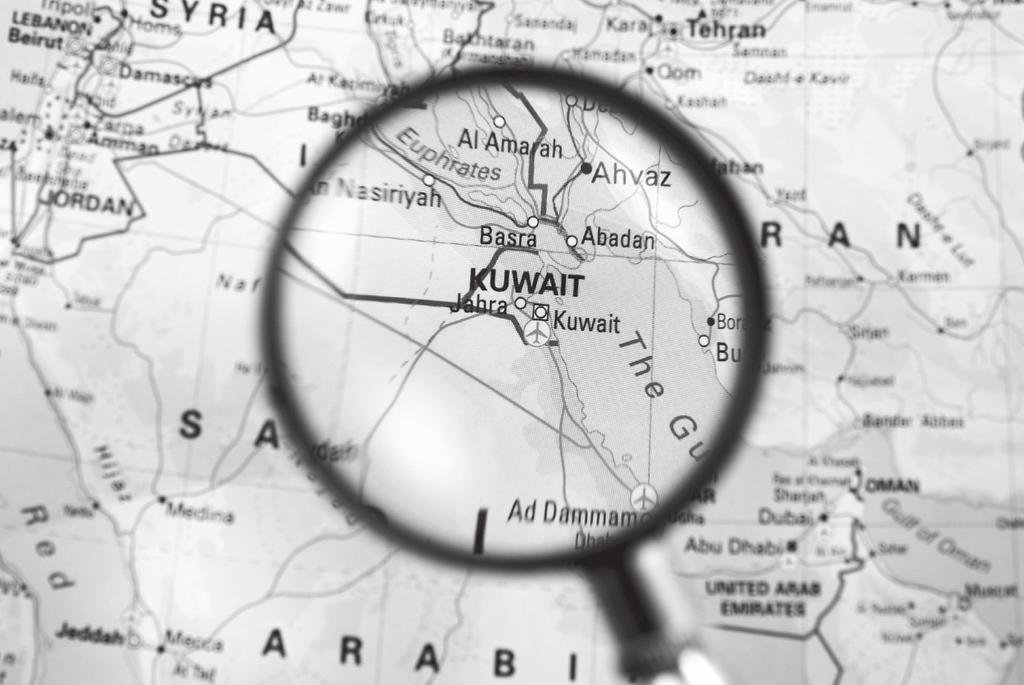 Kuwait This unit on the Persian Gulf War has mainly concentrated on the country of Iraq and its leader Saddam Hussein. What, though, of the tiny country of Kuwait the victim of Iraq s aggression?