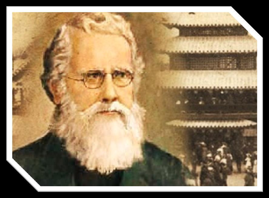 1853ad Taylor to China Taylor English Missionary to China who took the gospel into the unreached regions of China, then began a massive