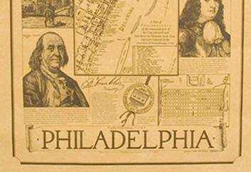 As a lasting symbol of his beliefs, he helped plan a capital called the City of Brotherly Love, or Philadelphia.