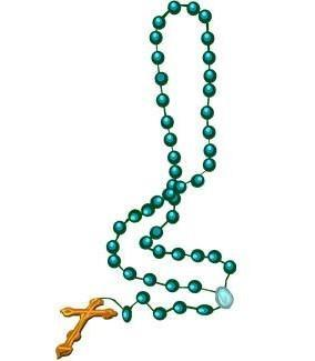THE ROSARY October and May are the months of the Rosary.