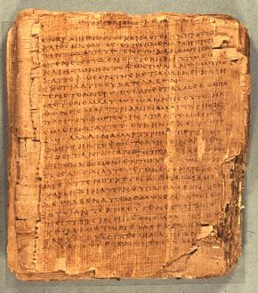Bodmer II P66, 125 A.D., EGYPT Uncial (Majuscule) Mixed Text Gospel of Jn.