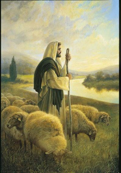 THE GOOD SHEPHERD, BY GREG K. OLSEN Divine Providence may be considered a type of spiritual power, a heavenly pull or tug that entices a wandering child to return to the fold.
