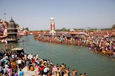 Hinduism is the religion of most Indians To Hindus, the Ganges River is the sacred home