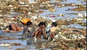 Centuries of use have made Ganges most polluted river in world sewage, industrial waste, human
