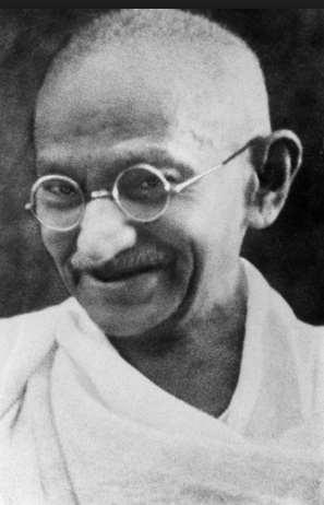 Using nonviolent methods, such as boycotting British product and staging peaceful demonstrations, Gandhi inspired