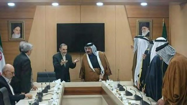 7 Velayati s meeting with the Sunni tribal leaders from Iraq (ISNA, February 26 2018).