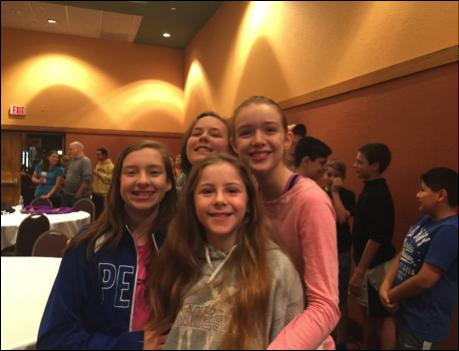 Forming Faith Spring 2017 Ministy for Middle Schoolers Extreme Faith Weekend Last December, for the first time, 53 7th and 8th grade participants and 11 high school small group leaders attended