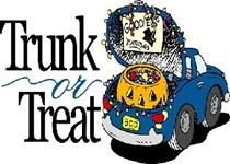 !! Your needed to support TRUNK or TREAT during Harvest Fest 2014.