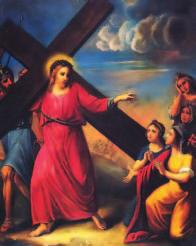 Eighth STATION Jesus Meets the Women of Jerusalem Many women were beating their breasts and wailing for him.
