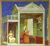 In the 1300s, the painter Giotto (1276-1337) had already astonished Italians by