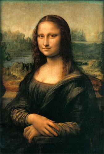 Da Vinci discovered how to use shadowing and blurred lines, especially on the eyes and mouth, to make his subjects appear incredibly