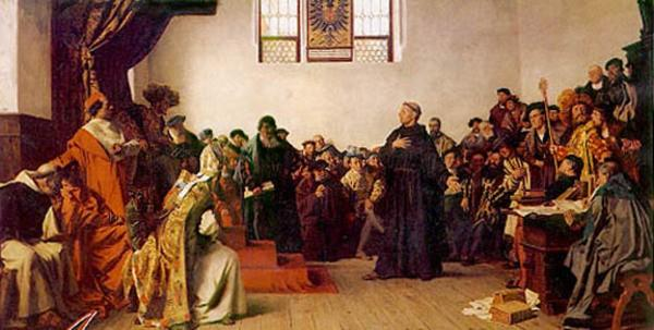 Luther s Fate Protected by German Princes 1520 works banned