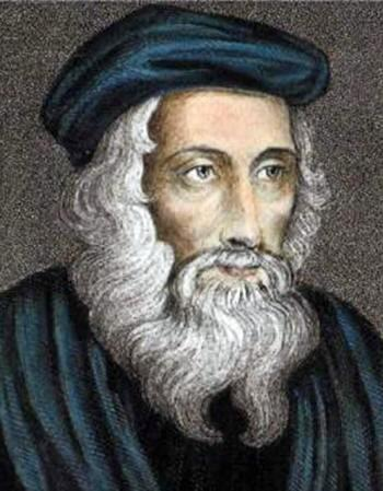 John Wycliffe English Scholastic philosopher Oxford in England early dissident in the Roman Catholic Church 14th century followers were known as Lollards anticlerical and biblically-centred