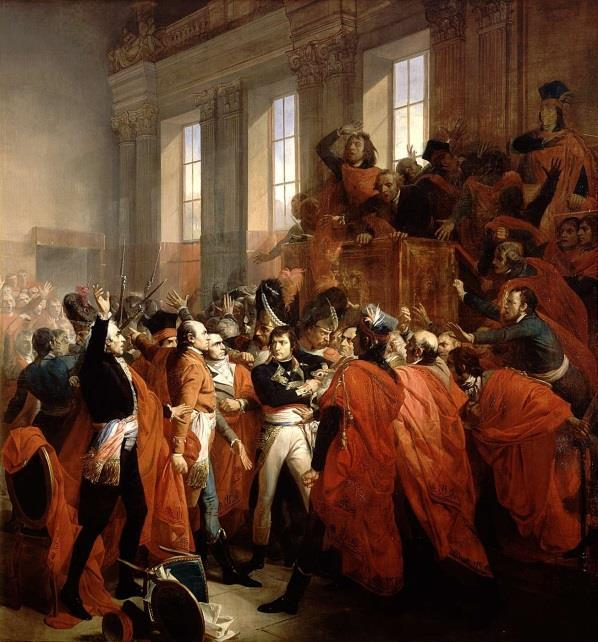 RISE OF NAPOLEON Urged to save France by many